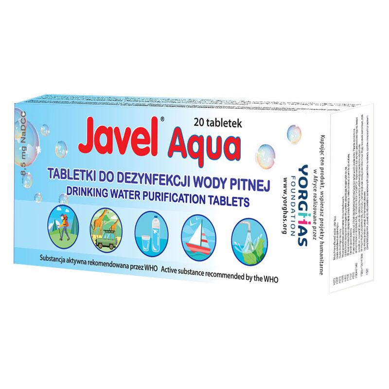 Tabletki do Uzdatniania Wody Pitnej Javel Aqua Dystrybucja